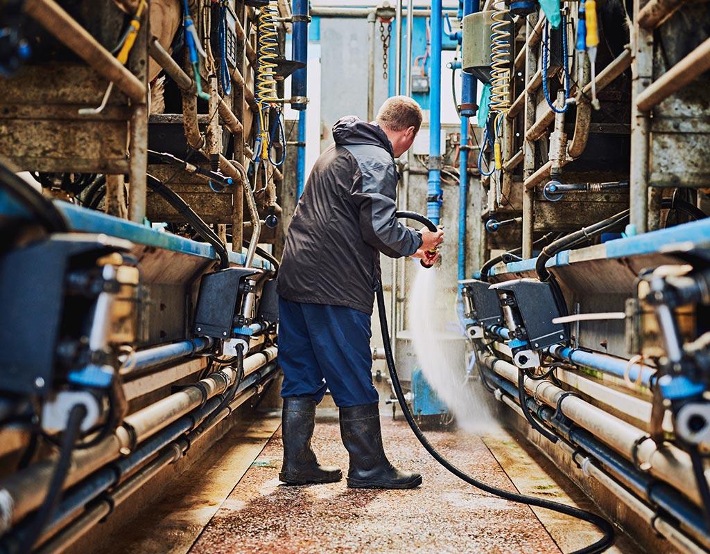 Industrie- und Maschinenreinigung